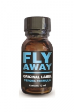 Poppers Fly Away - Fly Away est un poppers aux effets intenses, à base d'isopropyle, en flacon concentré de 13ml.